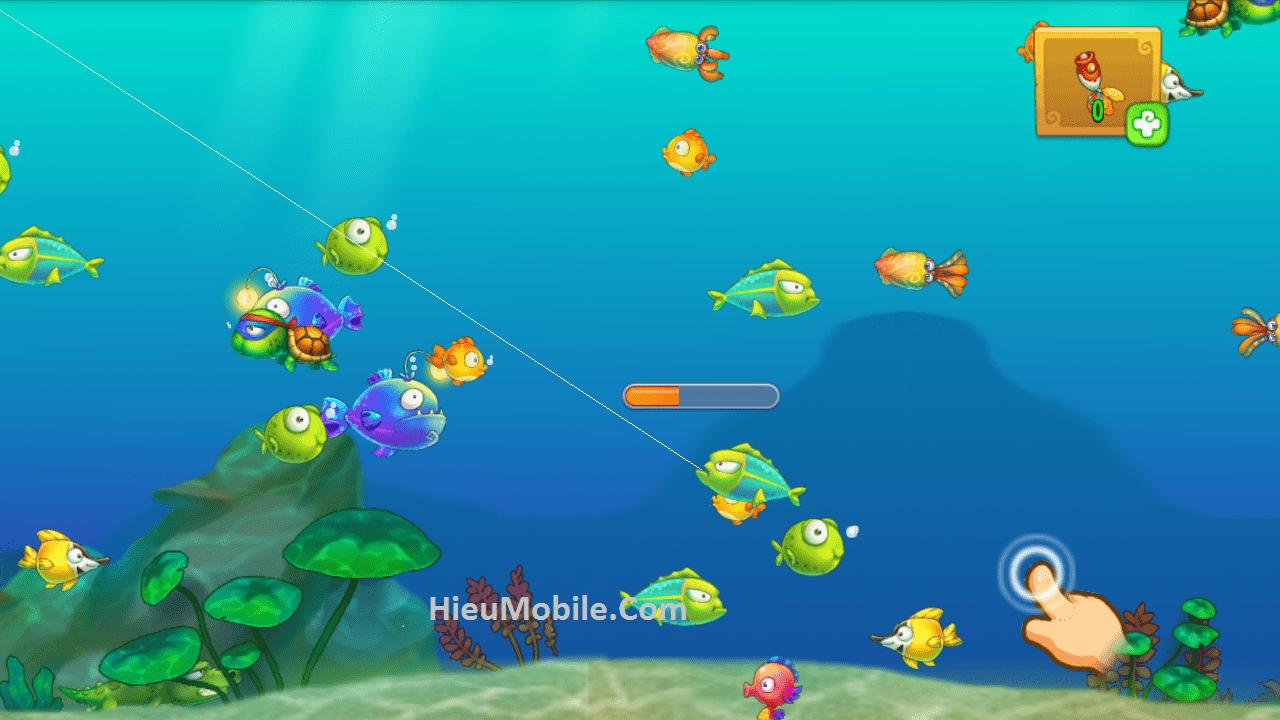 Hình ảnh AIHIW67 của Khu Vườn Trên Mây Mobile cập nhật tính năng Câu Cá thú vị tại HieuMobile