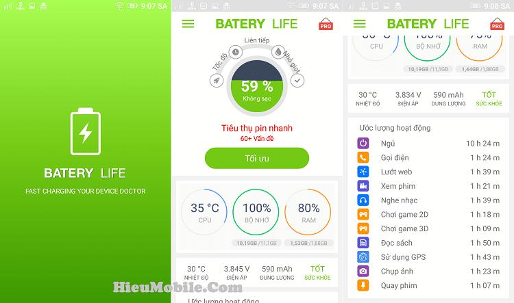 Hình ảnh AO8EtNR của Tải Battery Life - Giúp sạc nhanh và kiểm tra tình trạng pin điện thoại tại HieuMobile