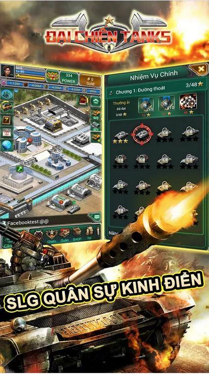 SLG Quân sự kinh điển - Đại Chiến Tanks