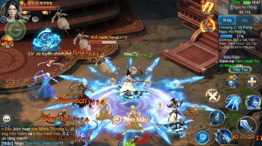 Hình ảnh của Kiếm Vũ Mobi - Tuyệt phẩm kiếm hiệp Gamota tại HieuMobile
