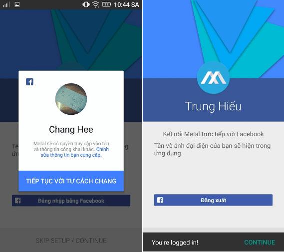 Hình ảnh B3H44jQ của Tải Metal for Facebook - Nhắn tin không cần Messenger trên Android tại HieuMobile