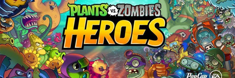 Ảnh bìa game chiến thuật Plants vs Zombies: Heroes