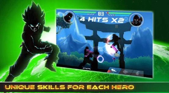 Hình ảnh trong game Shadow Battle - Bóng đánh nhau