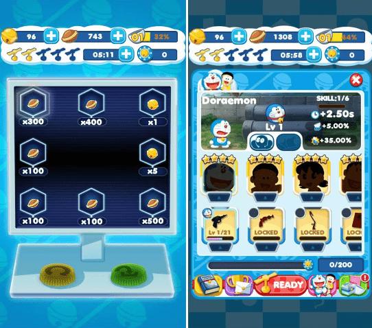 Hình ảnh trong game Doraemon Gadget Rush - Xếp hình tìm bảo bối tại HieuMobile