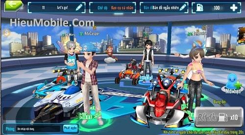 Hình ảnh BOXW7We của Tải Au Speed - Game đua xe kết hợp thời trang trên điện thoại tại HieuMobile