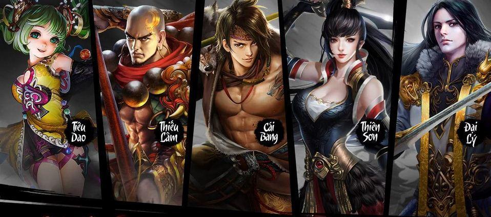 Hệ thống nhân vật trong game Thiên Long Bát Bộ Mobile 3D