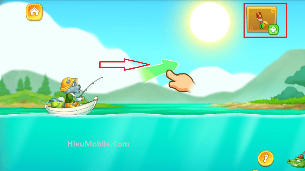 Hình ảnh CMWI0kO của Khu Vườn Trên Mây Mobile cập nhật tính năng Câu Cá thú vị tại HieuMobile