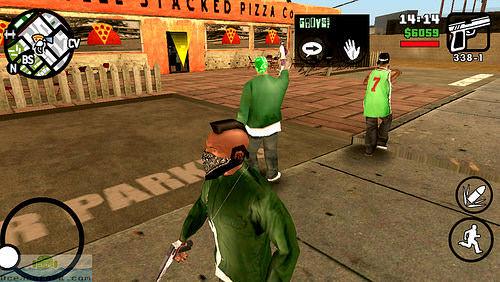 Hình ảnh CQPYgJb của Tải game GTA San Andreas - Trở thành Gangster Mỹ trên điện thoại tại HieuMobile