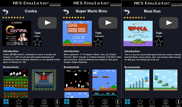 Hình ảnh CULHqYC của Tải NES Emulator - Giả lập chơi 100 game NES có sẵn cho Android tại HieuMobile
