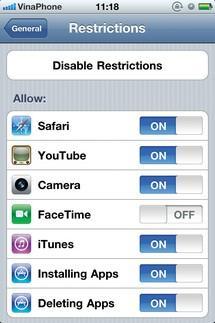 Không phải lo người khác mở ứng dụng trên điện thoại của mình mà không được sự đồng ý