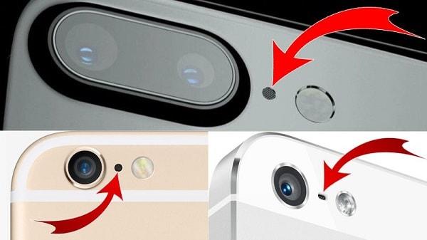 Hình ảnh CkRdVbA của Phám khá về lỗ nhỏ luôn ở cạnh camera sau của mỗi điện thoại tại HieuMobile