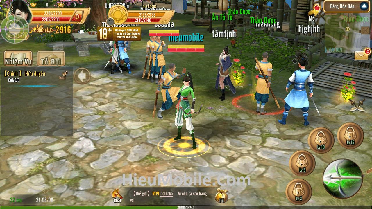 Hình ảnh D6EaF4B của Tải game Phi Long Tại Thiên - Kiếm hiệp chuẩn Xạ Điêu tại HieuMobile