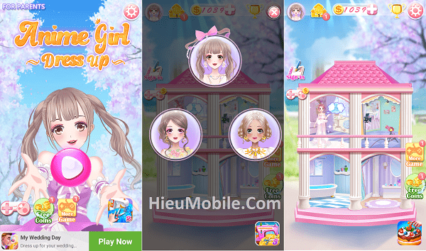 Hình ảnh DA7jqsj của Tải game Anime Girl Dress Up - Trang điểm bạn gái dễ thương tại HieuMobile