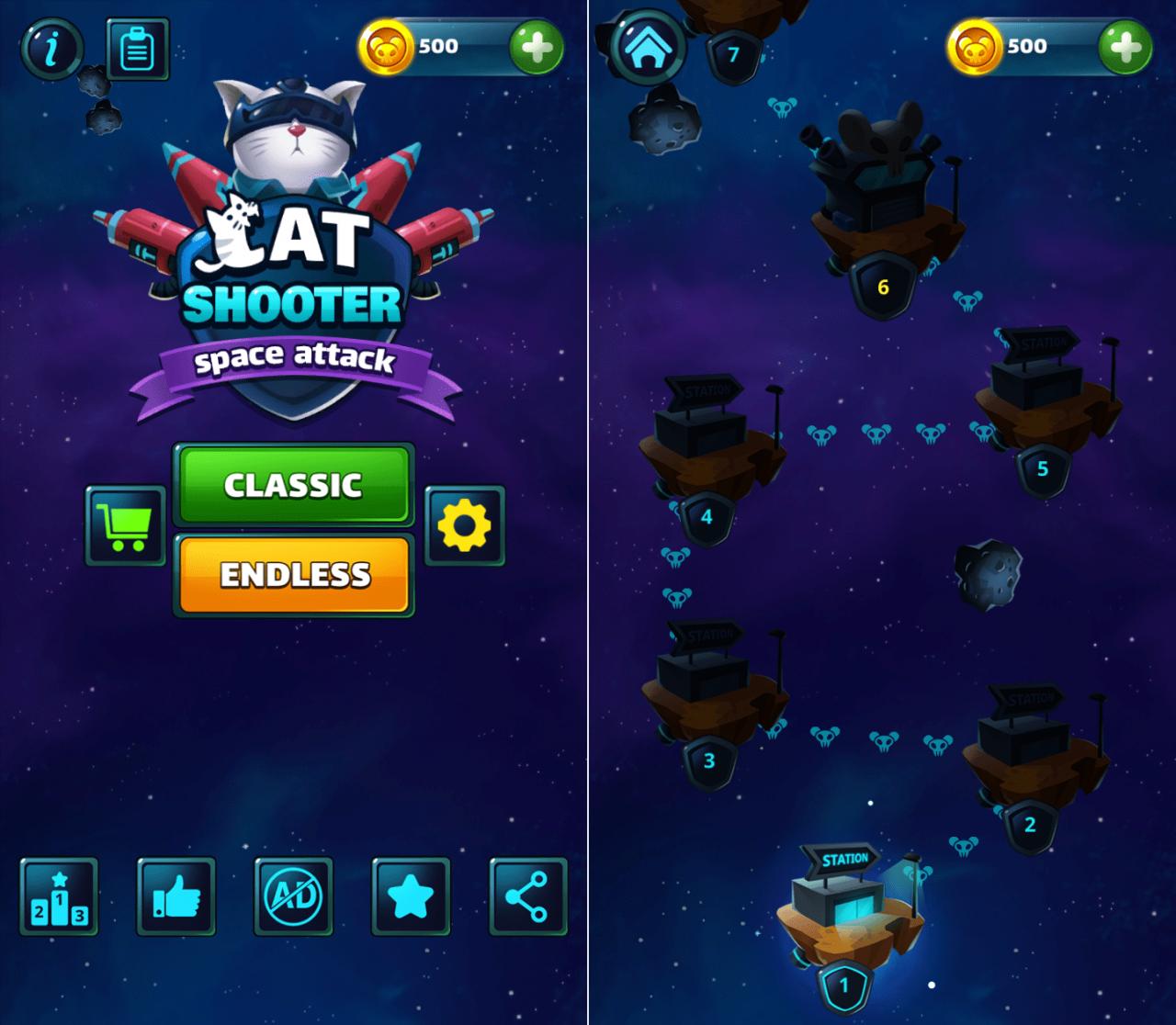 Hình ảnh DXujWjc của Tải game Cat Shooter: Space Attack - Mèo bắn chuột vũ trụ tại HieuMobile