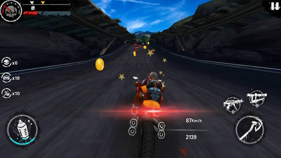 Hình ảnh trong game Death Moto 3 4 - Đua xe đánh nhau tại HieuMobile