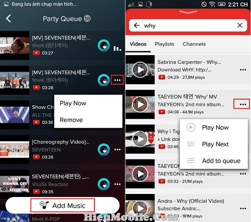 Hình ảnh DcfXRSu của Cách thêm nhạc hoặc video vào danh sách phát trong AmpMe tại HieuMobile