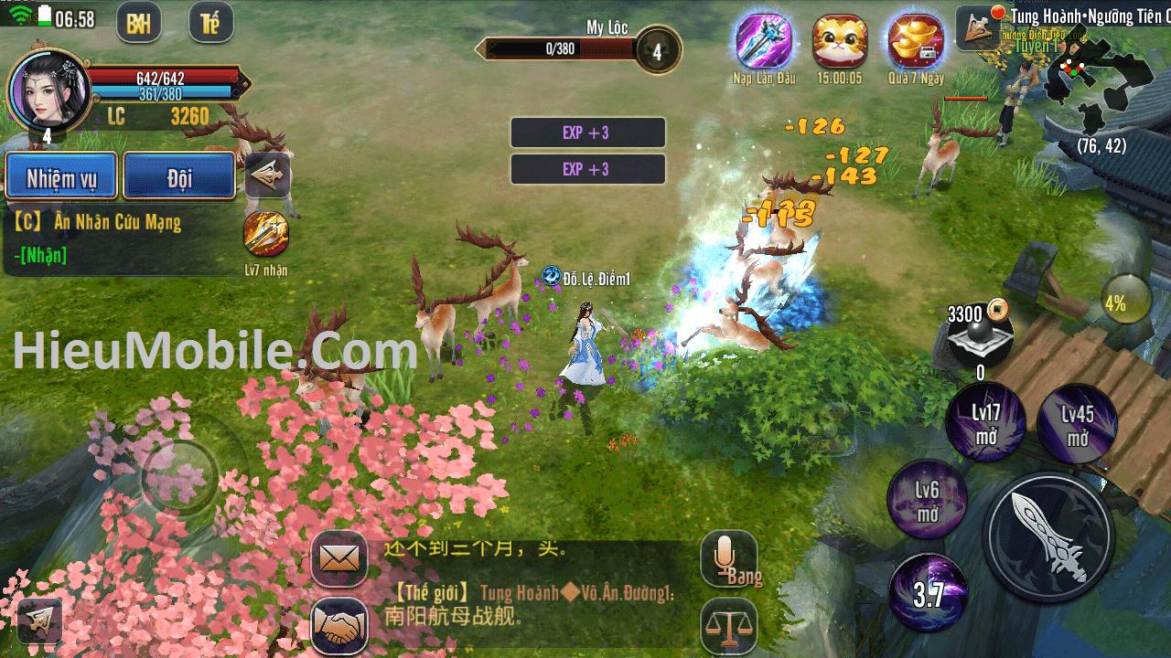 Hình ảnh E6kO7On của Tải game Kiếm Hiệp Truyền Kỳ Mobile tại HieuMobile