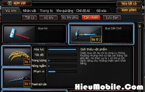 Hình ảnh EDY5Vuw của Đánh giá cận chiến Búa Sắt - Chill game Đột Kích: Mạnh mà khó chơi tại HieuMobile