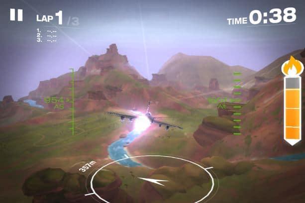 Hình ảnh trong game Gripen Fighter Challenge - Đua máy bay chiến đấu