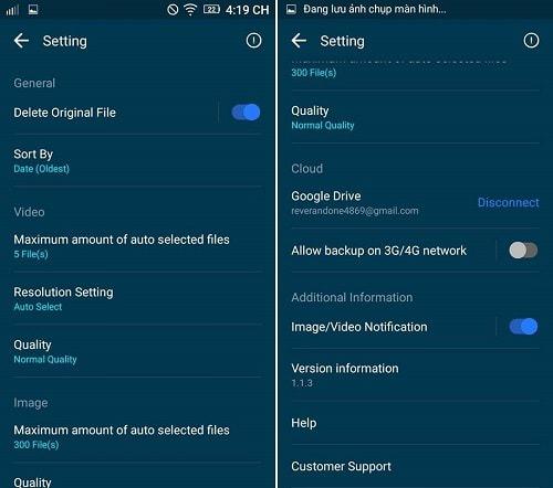 Hình ảnh FNg8TP0 của Tải GOM Saver - Nén ảnh và video tự động tiết kiệm bộ nhớ Android tại HieuMobile