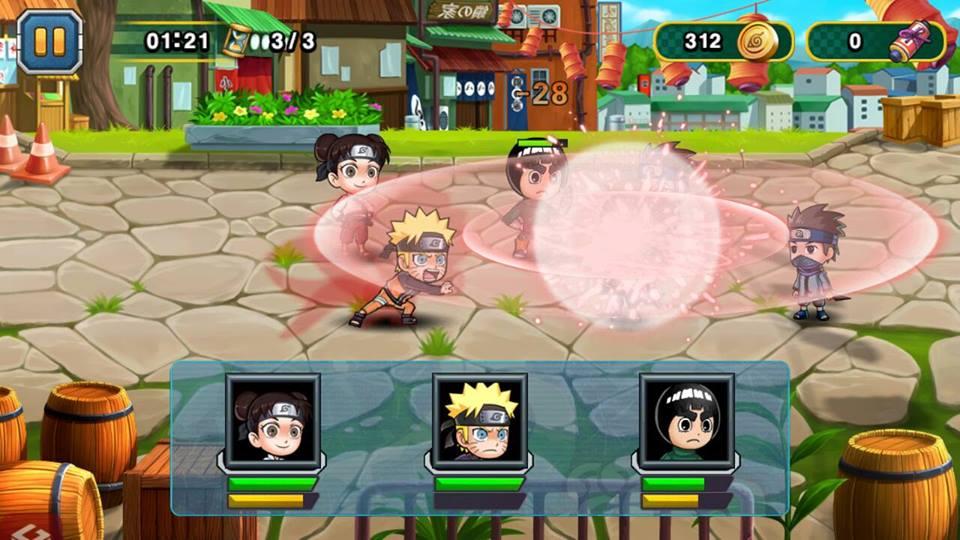 Hình ảnh của Học Viện Ninja - Đại Chiến Naruto tại HieuMobile