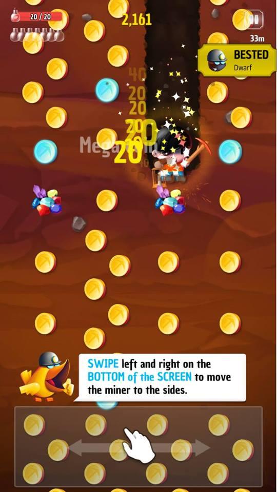 Hình ảnh trong game Tiny Miners - Đào vàng kiểu mới tại HieuMobile