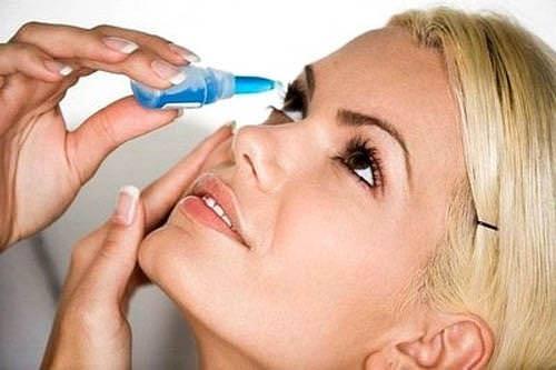 Không sử dụng thuốc nhỏ mắt quá 15 ngày liên tục