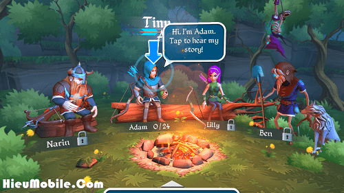 Hình ảnh GlFA5W6 của Tải game Tiny Archers - Bắn cung diệt quỷ dữ tại HieuMobile