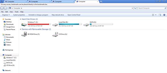 Hình ảnh GpYFKP6 của Tải Clover -Mở thêm tab khi quản lý file cho Windows Explorer tại HieuMobile