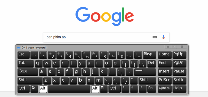 Hình ảnh H0i4uKf của Hướng dẫn bật bàn phím ảo trên máy tính laptop khi bị liệt nút bấm tại HieuMobile