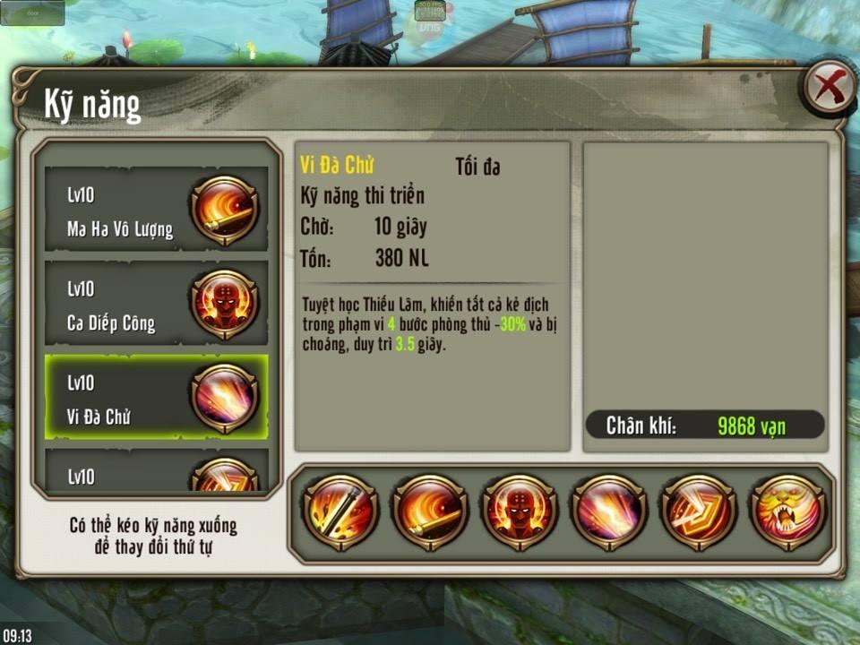 Thiếu Lâm Choáng bất động trong Thiên Long Bát Bộ 3D