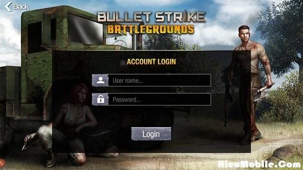 Hình ảnh HLEqIwc của Chia sẻ một số tài khoản thử nghiệm game Bullet Strike: Battlegrounds tại HieuMobile