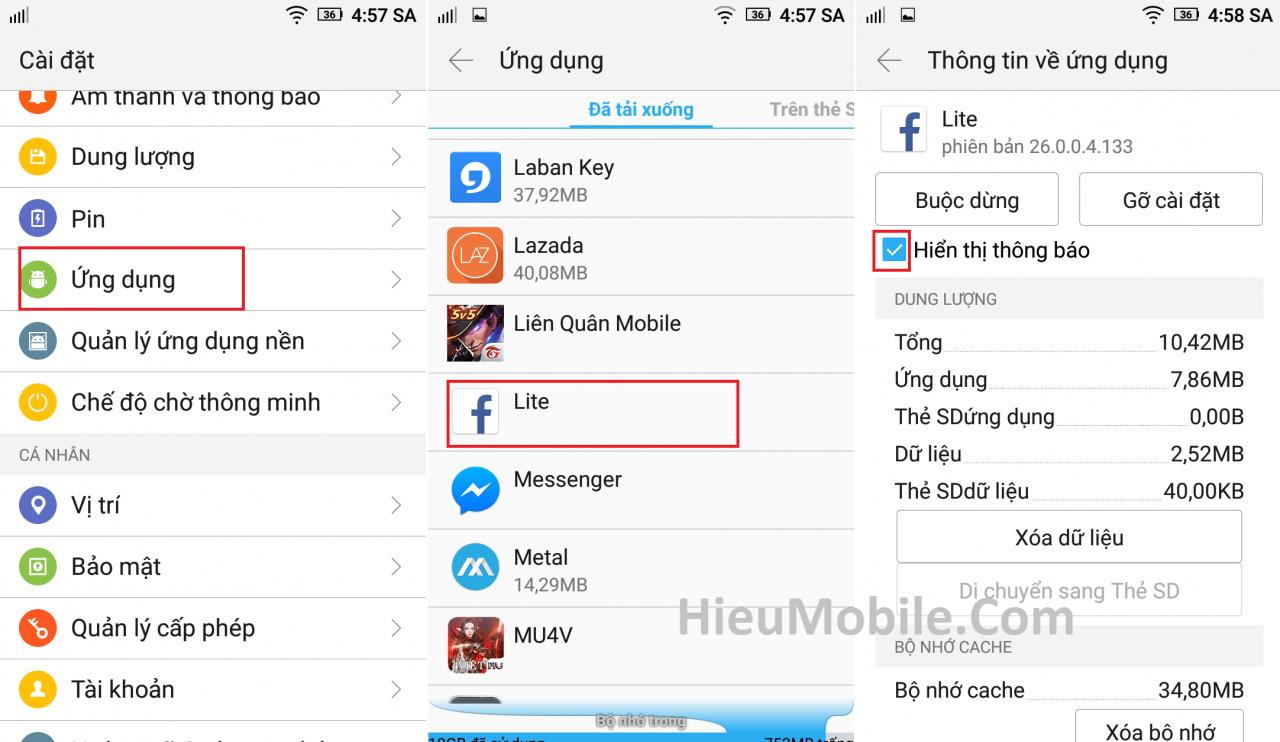 Hình ảnh HPCEpSt của Cách tắt các thông báo game ứng dụng trên điện thoại Android tại HieuMobile