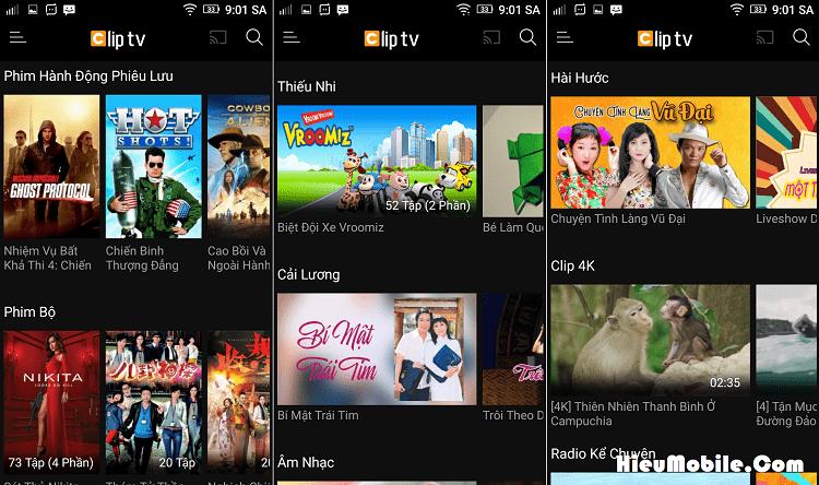 Hình ảnh HPrWyqe của Tải Clip TV - Dịch vụ xem truyền hình trực tuyến tốt nhất hiện nay tại HieuMobile