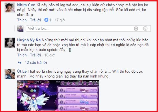 Super Dancer VN sau cập nhật quá lag nhiều lỗi