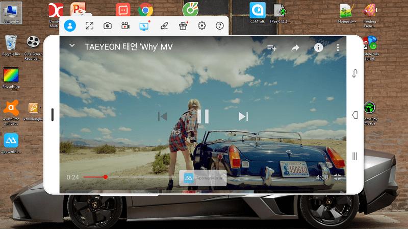 Hình ảnh HwknPDm của Phát hình ảnh từ Android, iPhone ra máy tính không cần mạng tại HieuMobile