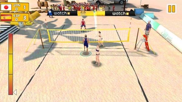 Hình ảnh IEZMqzH của Tải game Beach Volleyball - Bóng chuyền bãi biển 3D tại HieuMobile