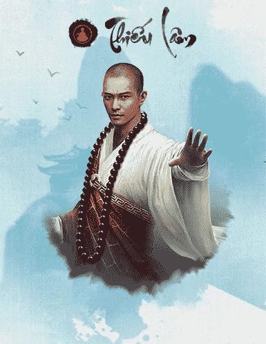 Phái Thiếu Lâm trong game Cửu Âm VNG