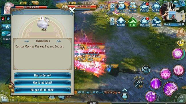 Hình ảnh IrjTVPe của Chi tiết về nhiệm vụ ẩn Độ Sân Si trong game Tru Tiên 3D Mobile tại HieuMobile