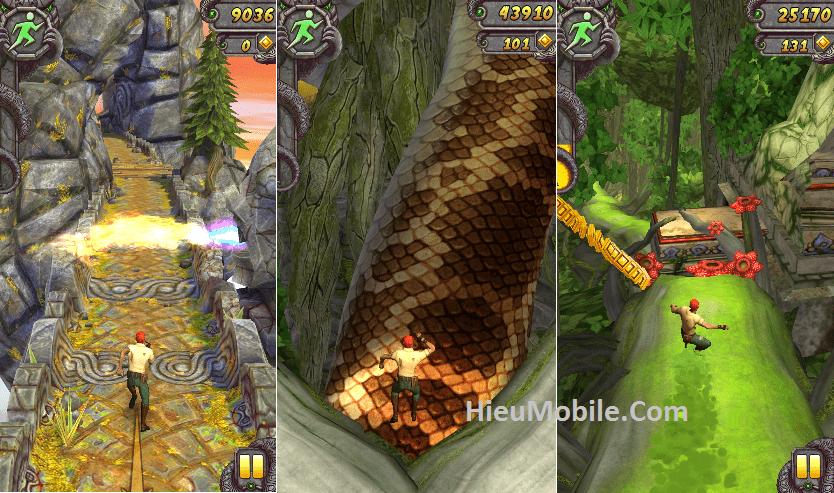 Hình ảnh J29COUo của Tải game Temple Run phần 1 và 2 - Chạy trốn quái vật tại HieuMobile