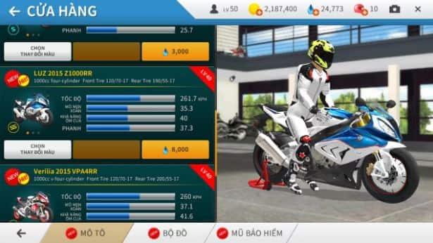 Hình ảnh trong game Real Moto - Đua mô tô như thật