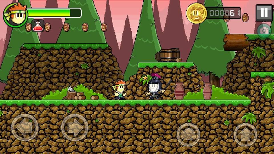 Hình ảnh trong game Dan The Man - Võ sĩ thời loạn tại HieuMobile