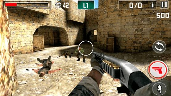 Hình ảnh trong game Gun Shoot War - Bắn súng chiến tranh tại HieuMobile
