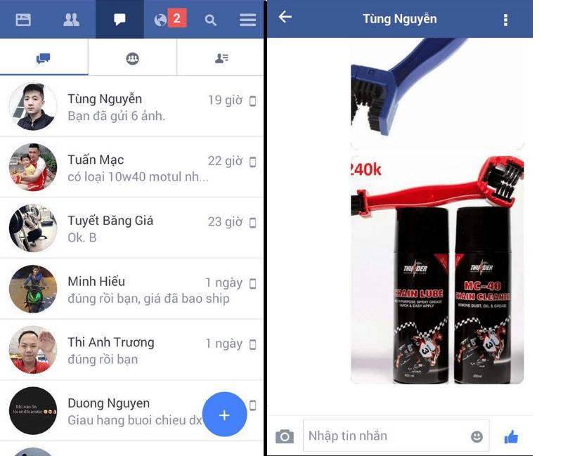 Hình ảnh của Cách nhắn tin trên Facebook mà không cần Messenger tại HieuMobile