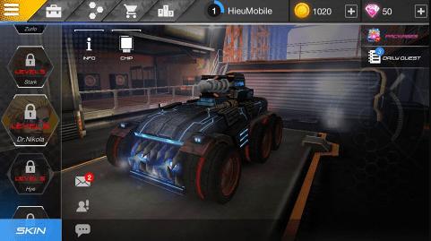 Hình ảnh KGADTxO của Tải game Overload - Moba phong cách đua xe bắn súng tại HieuMobile