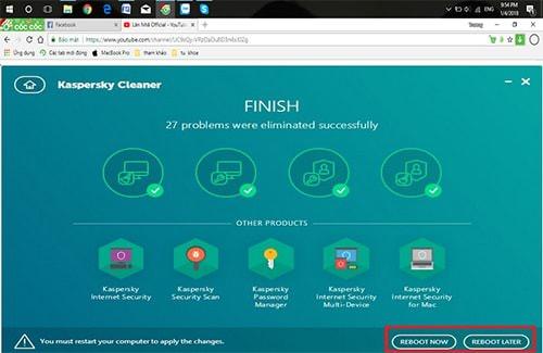 Hình ảnh KIv3b5w của Tải Kaspersky Cleaner - Dọn rác ổ cứng giúp máy tính chạy mượt hơn tại HieuMobile