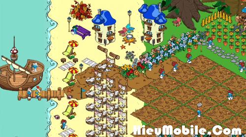 Hình ảnh KW1cAXG của Tải game Smurfs Village - Xây dựng vương quốc Xì Trum tại HieuMobile