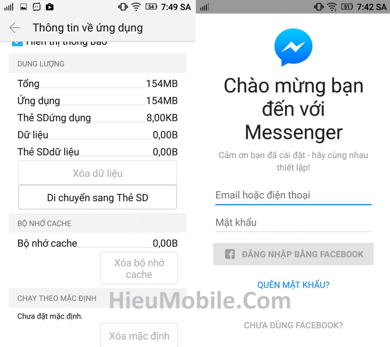 Hình ảnh KgNQHSb của Cách đăng xuất khỏi Messenger hoàn toàn mà không cần gỡ cài đặt tại HieuMobile