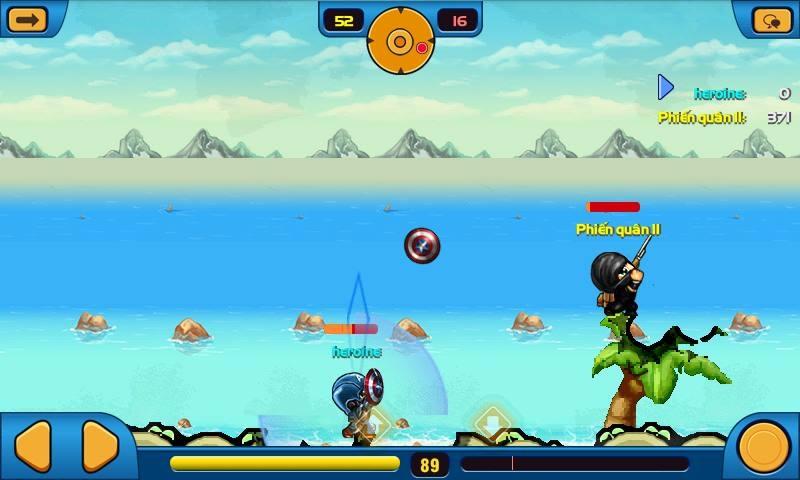 Captain - 5 trong 8 vũ khí mới của Mobi Army 3
