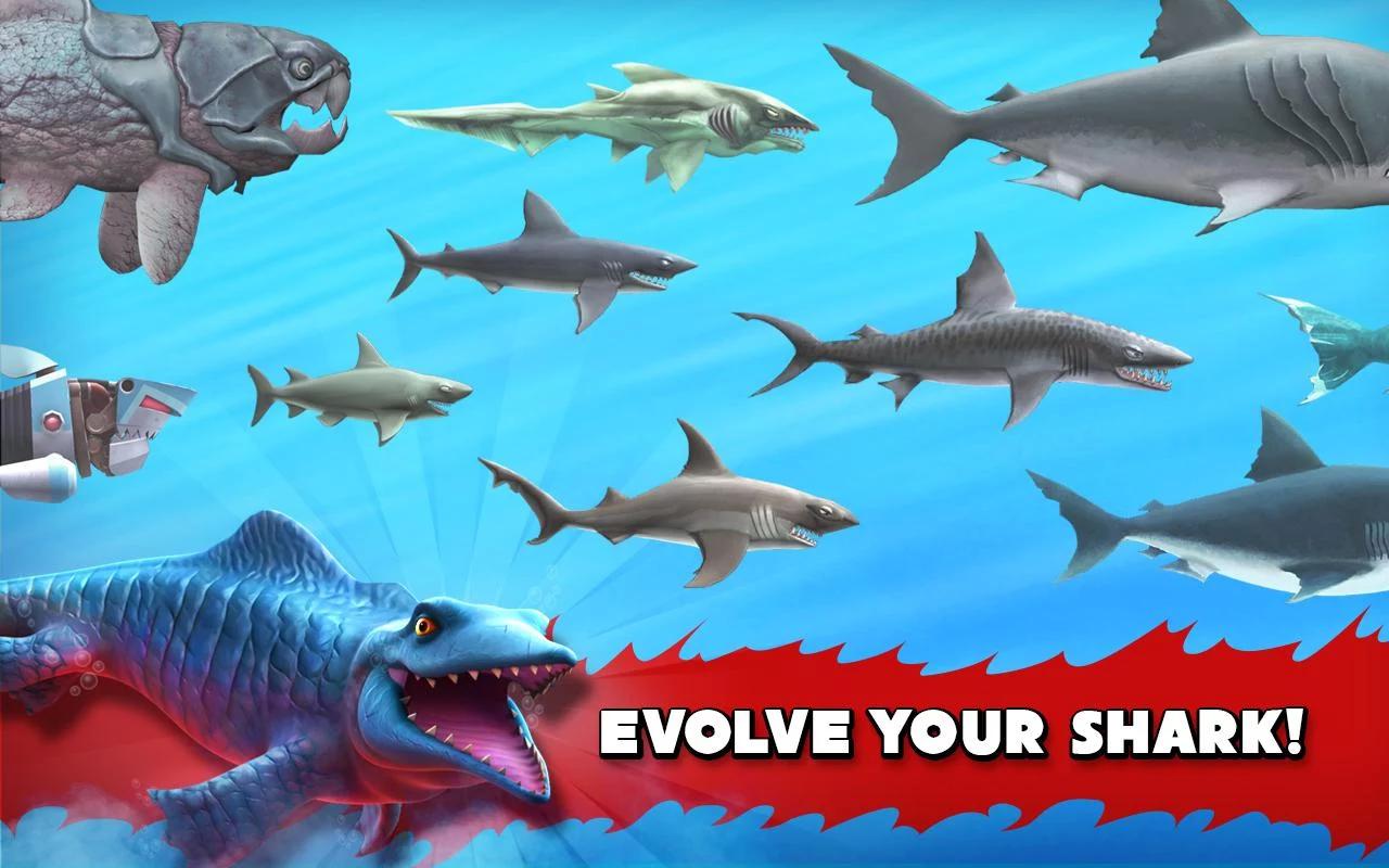 Tiến hóa các loại cá mập để mạnh mẽ hơn